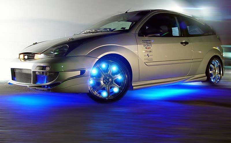 Стильная подсветка автомобиля